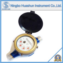 Medidor de água com formato volumétrico seco / Medidor de água de bronze / Medidor de água de classe C