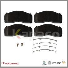WVA 29125 Kapaco Wholesale Best Performance Brake Pads Fabricant pour Volvo Truck