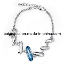 SW Elements Crystal Aquamarine Color Bracelet Jewelry (WWTFM00187)