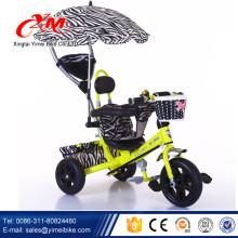 2016 Fabrik gerichtetes Baby-Dreirad mit Schiebegriff / Alibaba Großhandel meistverkauftes Dreirad für Kinder / 3 in 1 Baby Push-Dreirad