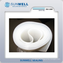 White Clean Rubber Sheet