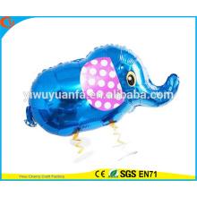 2016 elefante caliente del globo de la hoja del juguete del globo del animal doméstico de la venta que viaja para el regalo del cabrito