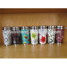 fashionable product stainless steel made in china custom travel ceramic mug with handle