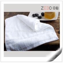 16s Sateen Style Custom Logo Towel Sets Factory Price Hotel White Towel
