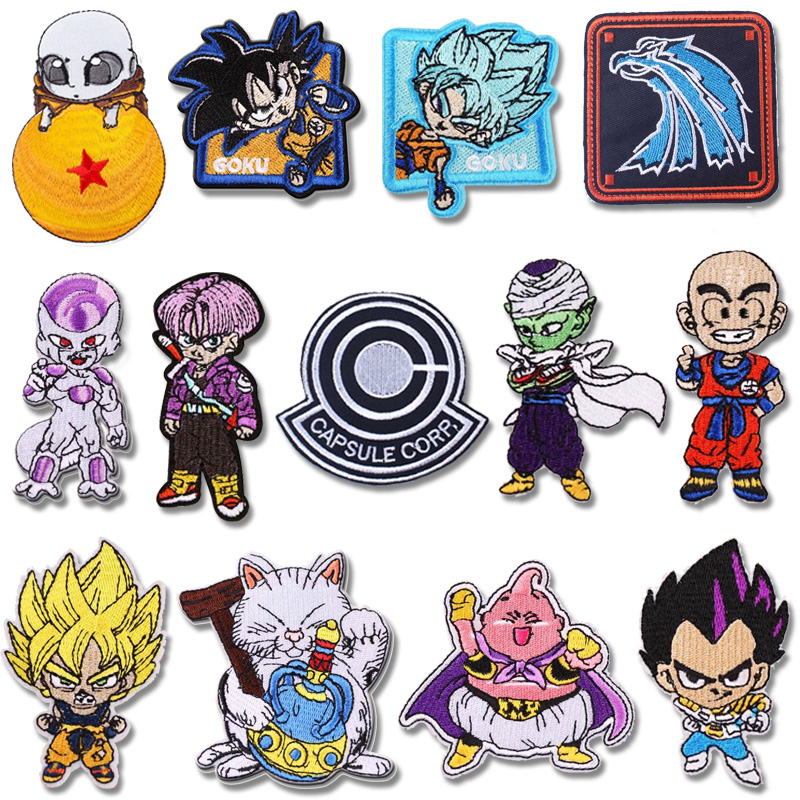 Dragon Ball Embroidery Patch