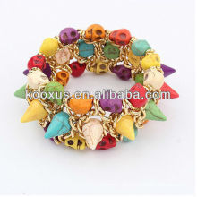 Braceletes de liga pulseira pulseira pulseira braceletes encantos pulseira