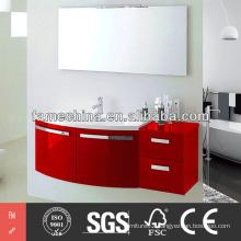 2014 New gloss PVC Bathroom Cabinet modern PVC Bathroom Cabinet