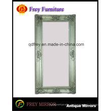 Nuevo diseño antiguo espejo de madera de la pared