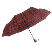 3 paraguas de apertura automática plegable con marco de metal