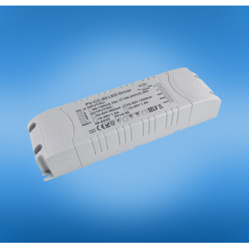 24v / dc 2500ma 60w triac dimmable conducteur conduit