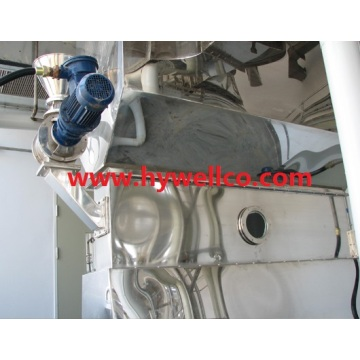 Bahan Granule Horizontal Bed Dryer