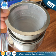 Golden supplier food grade stainless steel cold brew coffee filter for 2 quart glass mason jar
