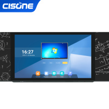65-86 inch touch screen teaching smart LED Nano blackboard with All in One Pc school writing board interactive whiteboard
