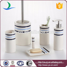 Everyday Home 6-Piece Ceramic Bathroom Toiletry Set