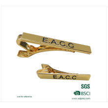 Brass Gold Plating High Polish Tie Clip for Promotion (XD-0204)
