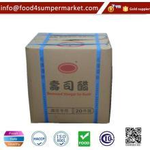 Natürlicher fermentierter Sushi Reis Essig 18L für Restaurant
