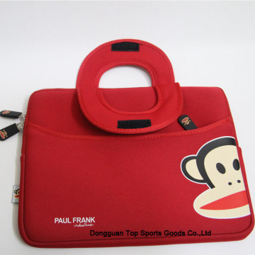 Neoprene laptop tote bags with paul frank