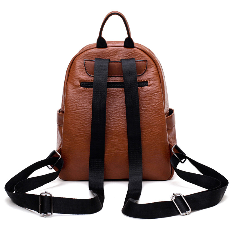 Evergreen Leather women backpack bags