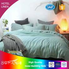 Ropa de cama de hotel / ropa de cama de hotel 1800TC sábana de cama de algodón sin arrugas / ropa de cama / ropa de cama