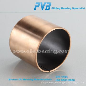 DP4-B Metall-Polymer-Bronze-Backed PTFE-Gleitlager, Basis auf GGB Buchse Standard
