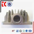 sandblasted sliver customized cylinder cover die casting