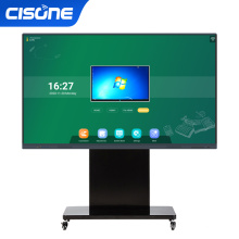 cisone educational equipment digital white boards interactive flat panel 86 inch electronic writing smart boards