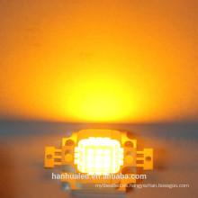 10W Amarillo 900mA 7-9VLED Cuentas de LED de alta potencia integradas
