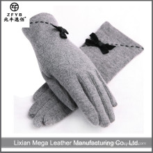 China Wholesale kundenspezifische Hand Wolle Handschuhe