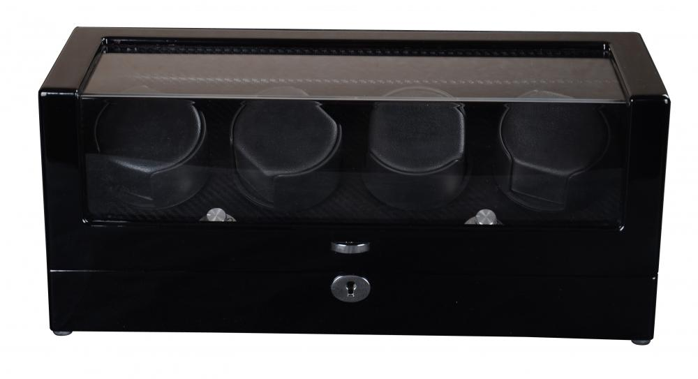 Ww 8099b Triple Rorations Watch Winder With Lock 1