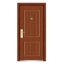 Стальная деревянная дверь с хорошим дизайном