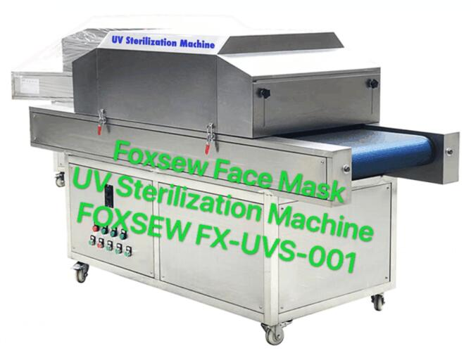 Foxsew UV Sterilization Machine for Face Mask FOXSEW FX-UVS-001 -3