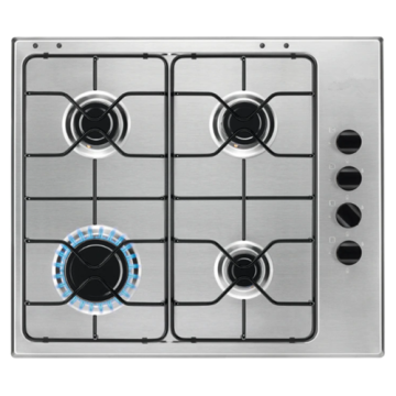 Placa Integrada Smeg 60cm Acero Inoxidable