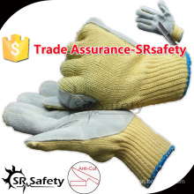 SRSAFETY 7 gauge Cut Resistant Glove/cut proof work gloves/Anti-cut working gloves
