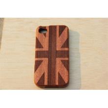 Couverture en bois de style anglais avec gravure de votre logo avec le prix d'usine du fabricant