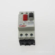 Disyuntor eléctrico trifásico de la protección del motor de la fase del aire Dzs12-10m32 3