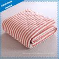 Cotton Bedding Stripe Quilt Blanket