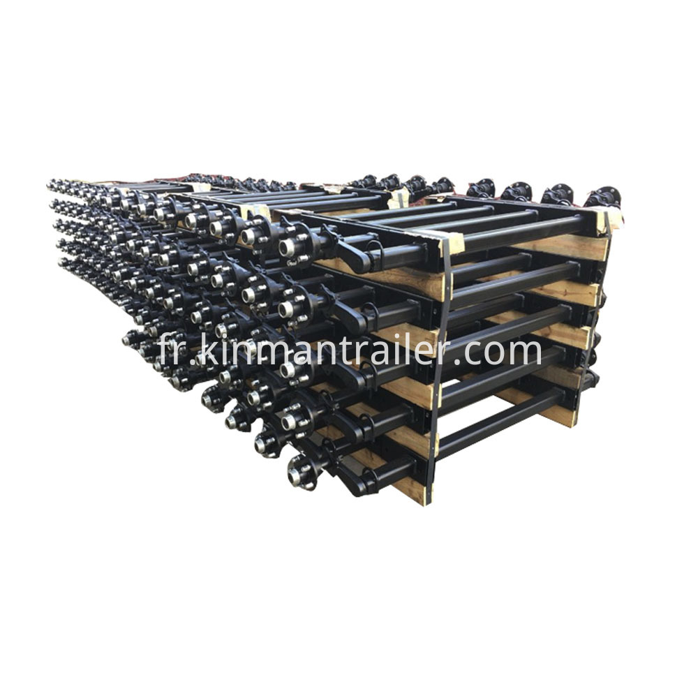 Leaf Spring Trailer Axle