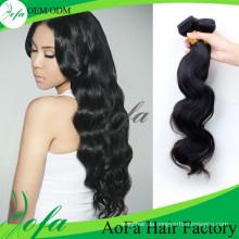 Reines Haar der hohen Grad-7A lösen Wellen-Remy-Haar-Schuss