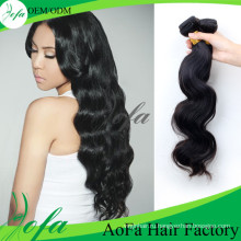 High Grade 7A Virgin Hair Loose Wave Remy Hair Weft