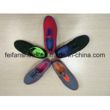 Унисекс новое Прибытие холст обувь инъекции, женщин свободного покроя скольжения на обувь