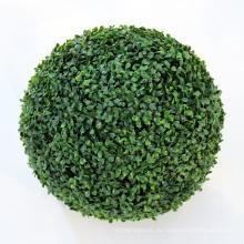 Домашний сад декор искусственный зеленый самшит спираль стрижке мяч