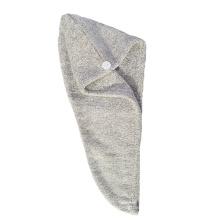 Bamboo Fiber Coral Fleece Soft Cap Towel, Fast Dry Hair Bath Towel