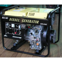 5kw 3 Phase Best Sold Diesel Generator Set Electric Start Open Frame