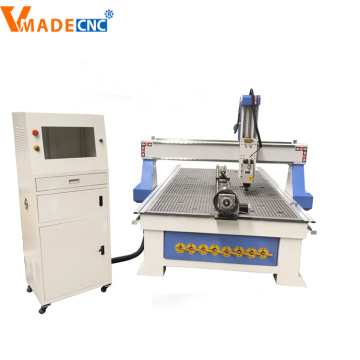 4Axis Rotary 3D Router CNC