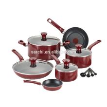 Nonstick Cookware Set Aluminum pots and pans