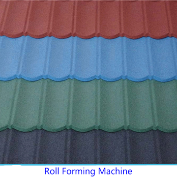 Metal Stone Roofing Tile Machine