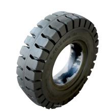 Rueda de neumático de caucho macizo para carretilla antipinchazos