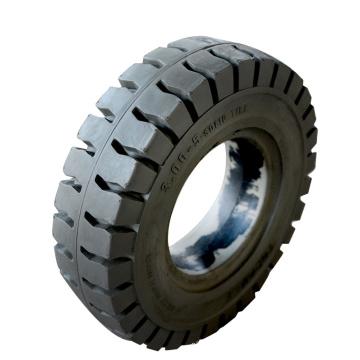 Flat free wheelbarrow solid rubber tire wheel