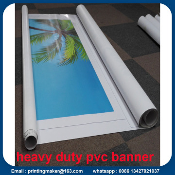 Percetakan UV Glossy Heavy Duty PVC Banner