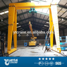 alzamiento de cadena eléctrico solo haz utilizado grúas de pórtico grúa 25 toneladas